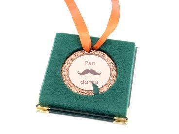 Medal brązowy w etui NADRUK