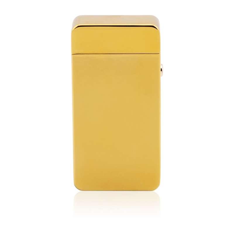 Zapalniczka plazmowa złota Prezent z Grawerem
