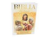 Biblia dla Dzieci. Pamiątka na Chrzest Komunię. Dedykacja