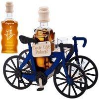 Komplet 7-częściowy Karafka i kieliszki Rower kolarski z Grawerem