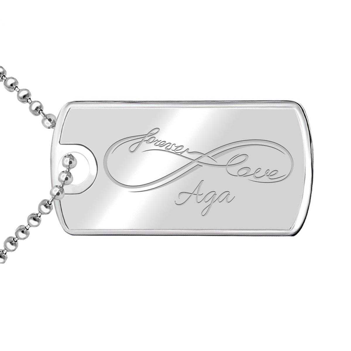Nieśmiertelnik łańcuszek srebrny 925 TWÓJ GRAWER