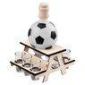 Komplet do alkoholu 7-częściowy Karafka i kieliszki piłka futbolowa z Grawerem 11