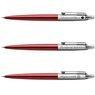 Ołówek Parker Jotter CT Czerwony Kensington Pudełko z Grawerem 5
