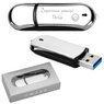 Pendrive chromowo-czarny 16 GB Pamięć USB prezent z GRAWEREM 7