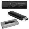 Pendrive czarno-czarny 32 GB Pamięć USB prezent z GRAWEREM 1