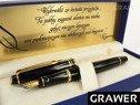 Pióro wieczne Waterman Expert Czarne GT Grawer 1