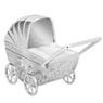 Skarbonka dla dziecka wózek - prezent na Chrzest, Baby Shower, Roczek   z Grawerem 3