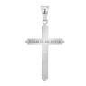 Srebrny 925 Sam Krzyżyk Chrzest Komunia Grawer 2
