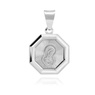 Srebrny medalik z Matką Boską / srebro 925 / Grawer 3