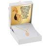 Złoty Komplet pr. 585 Zegar Roczek Chrzest z Grawerem różowa kokardka 1