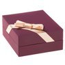 Złoty Naszyjnik Serce Celebrytka pr. 585 (14 K) GRAWER różowa kokardka 8